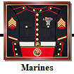 Marines Display Case
