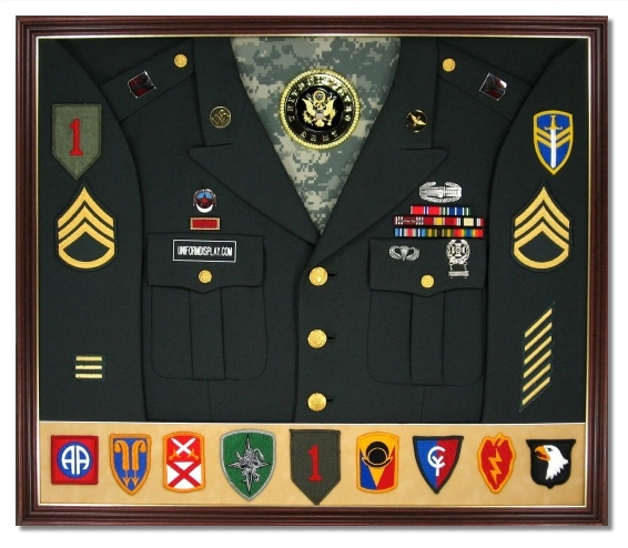 Military Display Case Shadow Box