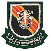 Army Special Forces Embroidered Crest