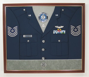 U.S. Air Force Officer Display Case Shadow Box