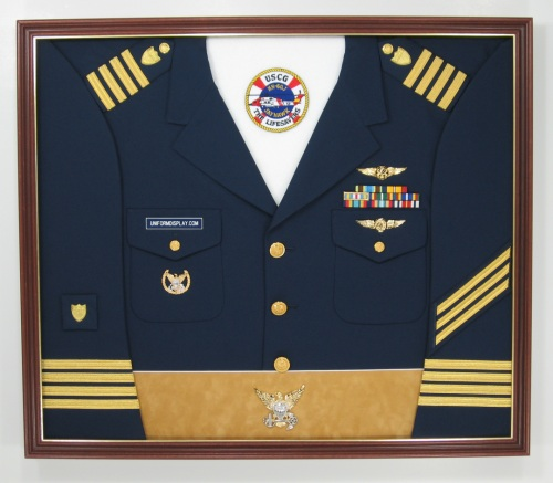 With Shoulder Boards